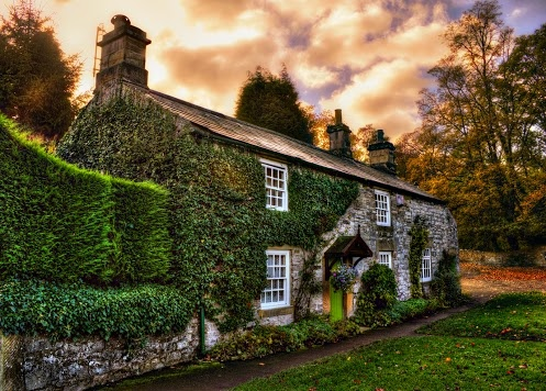A lovely cottage in Ashford-in-the-Water, Peak District, Derbyshire, England