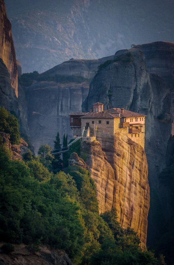 Beautiful View of Meteora , Greece