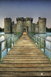 Bodiam Castle in Robertsbridge, England