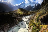 Bridge of Heaven, Mt. Cook, New Zealand