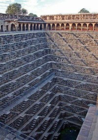 Deepest step well, Rajasthan, India
