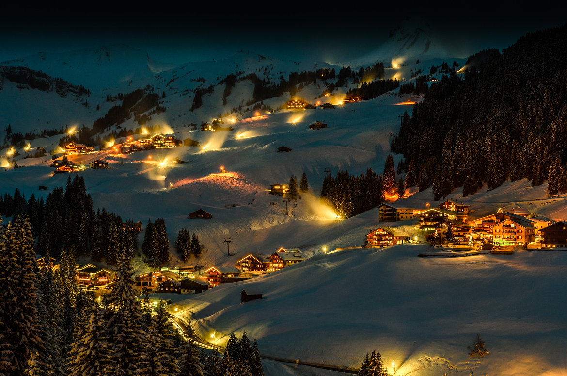 Dreamful night, Bregenzerwald, Bregenz, Austria