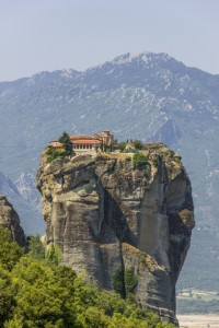 Meteora at the Greece