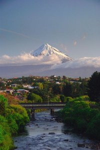 New Plymouth and Mount Taranaki, New Zealand