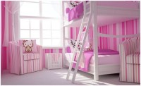 Hello Kitty girls bedroom Pink & White