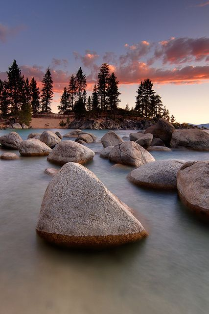 Sand Harbor, Lake Tahoe, California & Nevada, USA
