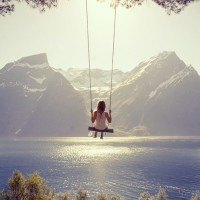 Amazing Swing in Norway