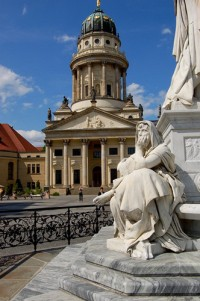 Gendarmenmarkt, One of the most beautiful squares in Berlin, Germany