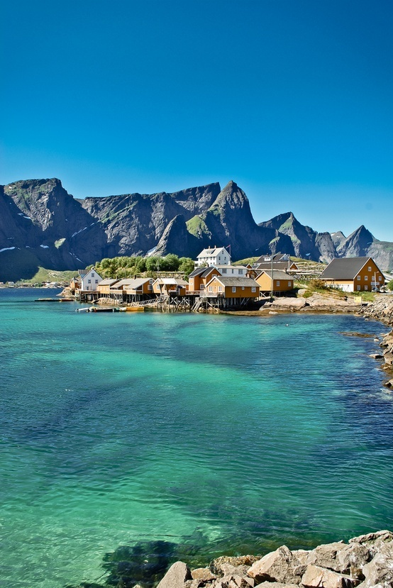 Sakrisøy, Norway