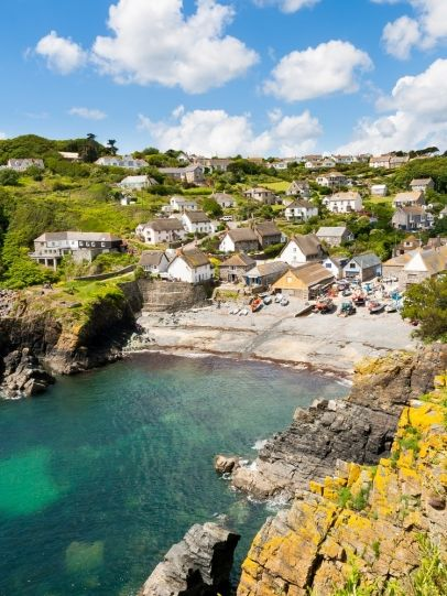 Cadgwith Cove on the Lizard Peninsula, Cornwall, England