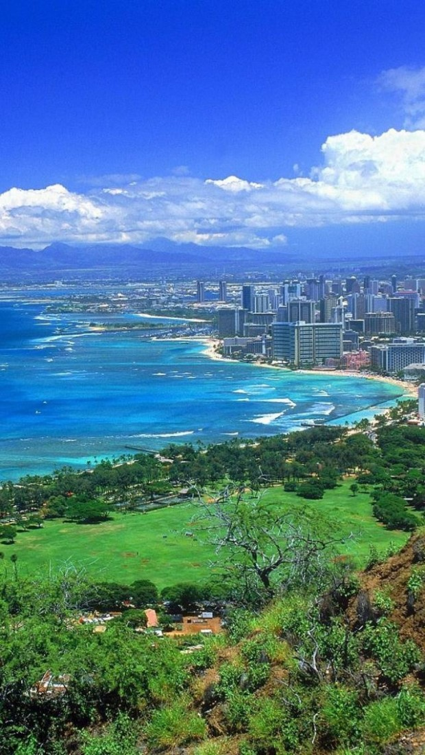 Diamond Head, Oahu, Island, Hawaii