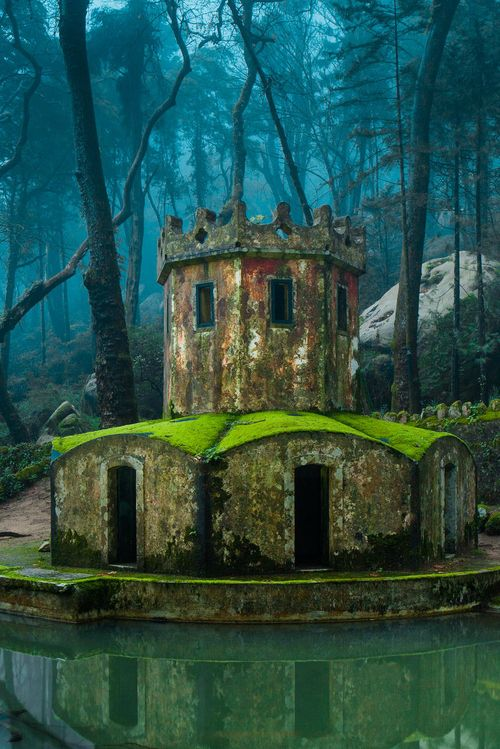 Ancient Tower in Sintra, Portugal