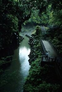 Dark Canyon, Takachiho, Japan