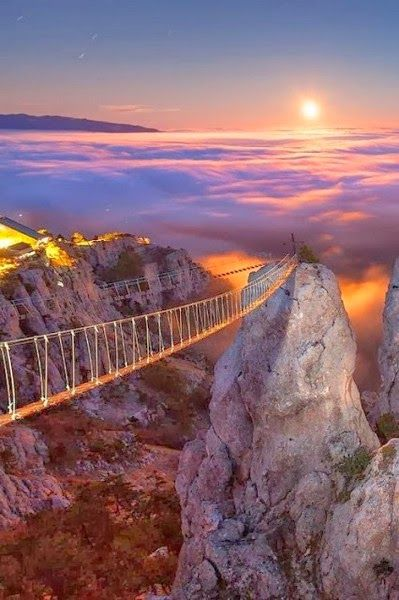 Bridges, Mount Ai-Petri, Crimea, Ukraine