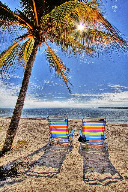 Life is a Beach, Key Biscayne, Florida, USA