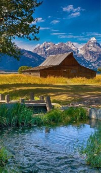 Mormon Row, Grand Teton National Park, Wyoming, USA