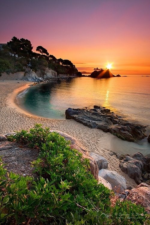 Sunset, Girona, Spain