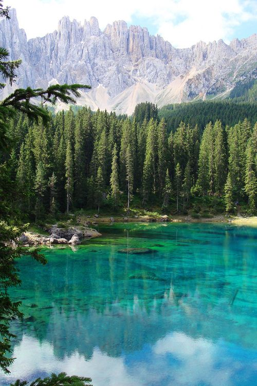 Turquoise Lake, South Tyrol, Italy