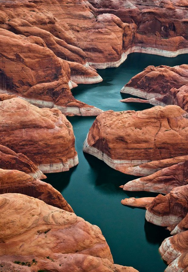 Lake Powell, Aireal, USA