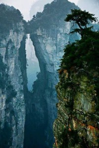 Zhangjiajie Stone Forest, China