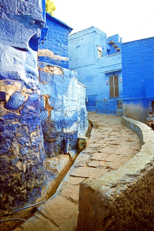 The Blue City, Jodhpur, India