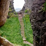 Steps at Dunluce, Northern Ireland
