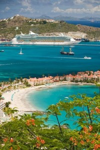 The Caribbean island of Saint Martin
